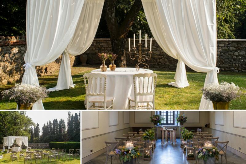 Matrimonio Simbolico Promesse : Il matrimonio allamericana castello di jerago